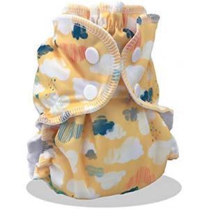 Applecheeks - 0872508000420 - Couche lavable TE2 (Tout en 2) - Taille 2 (8-16kg) (454102)