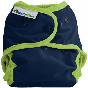 Best Bottom Diaper - 0816713015442 - Culotte d'apprentissage - snap huckleberry cobbler - taille uni (454128)