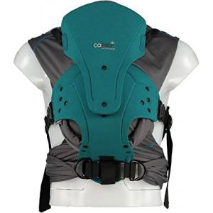 Close - 136670 - Porte bébé caboo carrier + coolpass - bleu turquoise - 2,3/14,5kg (454192)