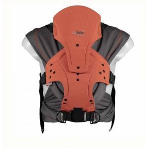 Close - 135650 - Porte bébé caboo carrier + merino - orange - 2,3/14,5kg (454202)