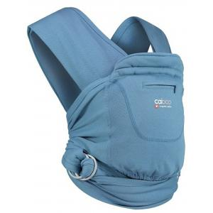 Close - 5060461254119 - Porte bébé caboo carrier + organic - porcelain - 2,3/14,5kg (454204)