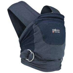 Close - 5060461254140 - Porte bébé caboo carrier +organic striped - midnight - 2,3/14,5kg (454206)