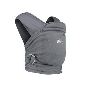 Close - 5060461254096 - Porte bébé caboo carrier+ organic - Pewter gris fonce - 2,3/14,5 kg (454208)