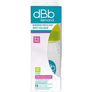 Dbb Remond - 18183067T-39-vert-110ml - Biberon regul'air anti-colique 0-4 mois vert 110 ml - vert - 0-4m 110 ml (454260)
