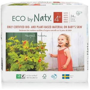 Eco By Naty - 7330933178396 - 24 couches écologiques - taille 4+, 9-20kg (454602)