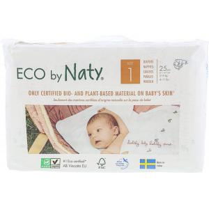 Eco By Naty - 7330933178358 - 25 couches écologiques - taille 1, 2-5kg (454604)