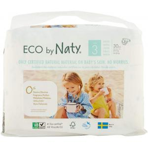 Eco By Naty - 7330933178372 - 30 couches écologiques - taille 3, 4-9kg (454606)