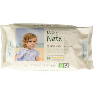 Eco By Naty - 7330933245012 - 56 lingettes douces éco - sans parfum (454612)