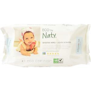 Eco By Naty - 7330933245029 - 56 lingettes douces éco légèrement parfumées (454616)