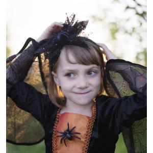 Great Pretenders - 33297 - Sybille la socrcière araignée, robe et coiffe, taille EU 116-128 - Ages 6-8 years (454672)