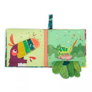 Moulin Roty - 668084 - Livre tissu d'activités Dans la jungle (454802)