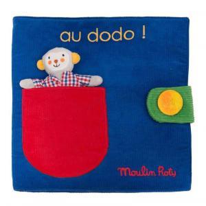 Moulin Roty - 661078 - Livre tissu Au dodo Les Popipop (454934)