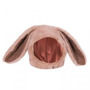 Moulin Roty - 718270 - Bonnet lapin rose Rendez-vous chemin du loup 6/12 m (454988)