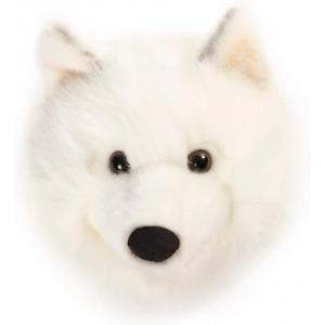 Wild and Soft - WS0601 - Tête loup blanc Lucy (455460)