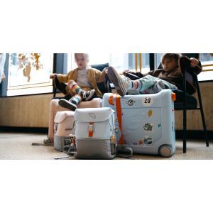 Stokke - 570602 - Ensemble valise BedBox et sac à dos Crew Jetkids Green aurora (455602)