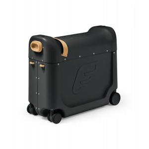 Stokke - 534505 - Valise enfant polyvalente Bedbox JetKids à tirer ou à chevaucher noire (455610)