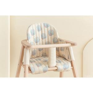 Nobodinoz - D20GGCHAIRCUSHION/003 - Growing green - Coussin chaise haute Blue Gatsby - cream (455664)
