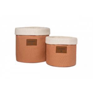 Nobodinoz - D17TANGOSMALL/010 - Panier Tango - petit Sienna brown (455738)