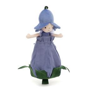 Jellycat - PETD6B - Petalkin Doll Bluebell - l = 11 cm x H =28 cm (455762)