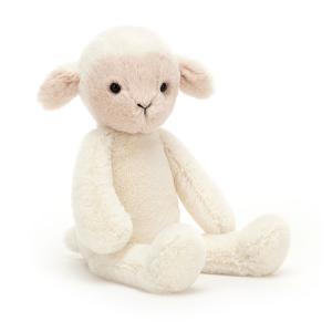 Jellycat - BRAM6L - Bramwell Lamb Small - L = 7 cm x l = 12 cm x H =27 cm (455766)