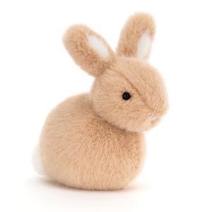 Jellycat - PEBB6HB - Pebblet Honey Bunny - L = 14 cm x l = 6 cm x H =10 cm (455804)