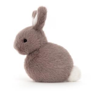 Jellycat - PEBB6MB - Pebblet Mushroom Bunny - L = 14 cm x l = 6 cm x H =10 cm (455806)