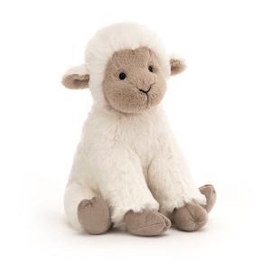 Jellycat - LIB3L - Libby Lamb Small - l = 16 cm x H =20 cm (455810)
