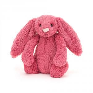 Jellycat - BASS6CER - Bashful Cerise Bunny Small - l = 9 cm x H =18 cm (455840)