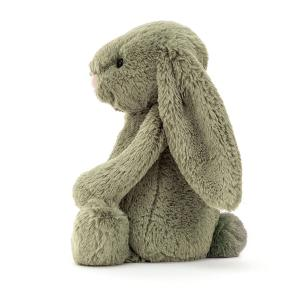 Jellycat - BAS3FERN - Bashful Fern Bunny Medium - l = 12 cm x H =31 cm (455846)