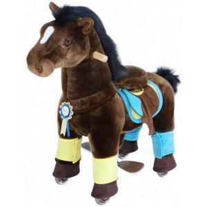 Ponycycle - K35 - Ponycycle Cheval Marron a monter Petit modele - Gamme Premium - Age 3-5 ans (455878)