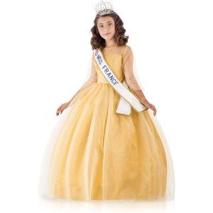 Upyaa - 430449 - Miss France Prestige Or 8-10 ans sous housse organza avec cintre satin (456076)
