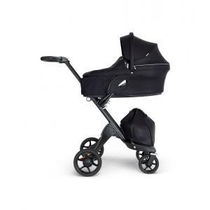 Stokke - BU386 - Poussette confort Xplory et nacelle Noir (456140)