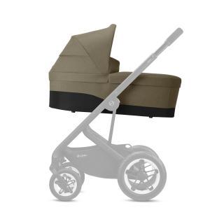 Cybex - BU464 - Poussette Talos S Lux avec nacelle cot S - Chrome Classic Beige - mid beige (456160)