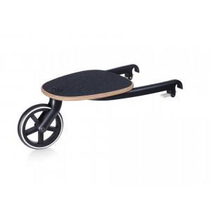 Cybex - BU485 - Poussette Talos S et planche à roulettes - Noir - Deep black - black (456202)