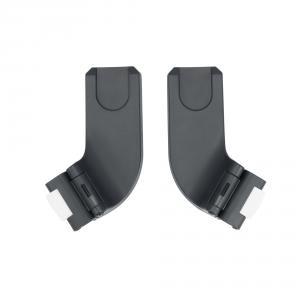 Cybex - BU502 - Poussette compacte Beezy et adaptateurs siège auto - Deep black (456236)