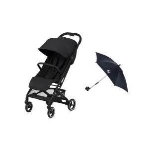 Cybex - BU503 - Poussette  Beezy avec ombrelle - Deep black (456238)