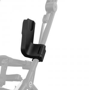 Cybex - BU519 - Poussette légère compacte Libelle et adaptateurs siège auto - Deep black (456270)