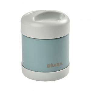 Beaba - 912907 - Portion inox isotherme 300 ml (gris clair/vert eucalyptus) (456288)