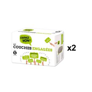 Change Now - BU65 - 40 Couches engagées T5, 11-25kg - X2 (456672)