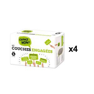 Change Now - BU70 - 45 Couches engagées T4, 7-14kg - X4 (456682)