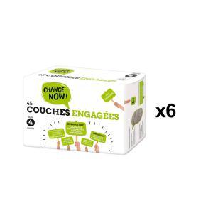 Change Now - BU71 - 45 Couches engagées T4, 7-14kg - X6 (456684)