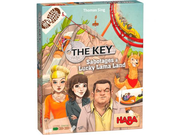 The key – sabotages à lucky lama land
