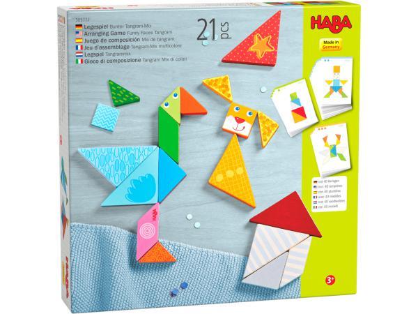 Jeu d'assemblage tangram-mix multicolore