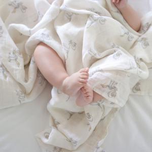 Aden and Anais - ASWC30004DI - Pack de 3 maxi-langes grand format en mousseline de coton Disney Baby - My Darling Dumbo (457040)