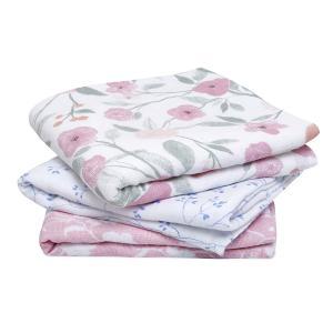 Aden and Anais - AMSC30007 - Pack de 3 musy-langes en mousseline de coton ma fleur (457060)