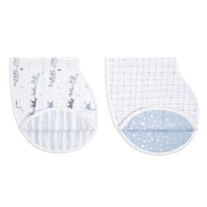 Aden and Anais - ABBC20006 - Pack de 2 bavoirs d'épaule burpy bib® en mousseline de coton rising star (457066)
