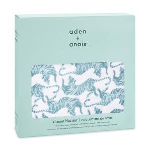 Aden and Anais - ADBC10009 - Couverture de rêve 100% coton dancing tigers (457080)