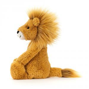 Jellycat - BAS3LION - Peluche Lion Bashful Medium - l = 12 cm x H = 31 cm (457348)
