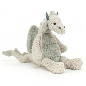 Jellycat - LAL3D - Peluche dragon Lallagie - l = 13 x H = 39 cm (457444)