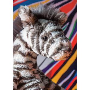 Jellycat - LAL3Z - Peluche zèbre Lallagie - l = 13 x H = 39 cm (457448)